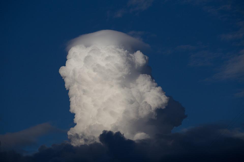 Cloud, Sky, Blue, Head