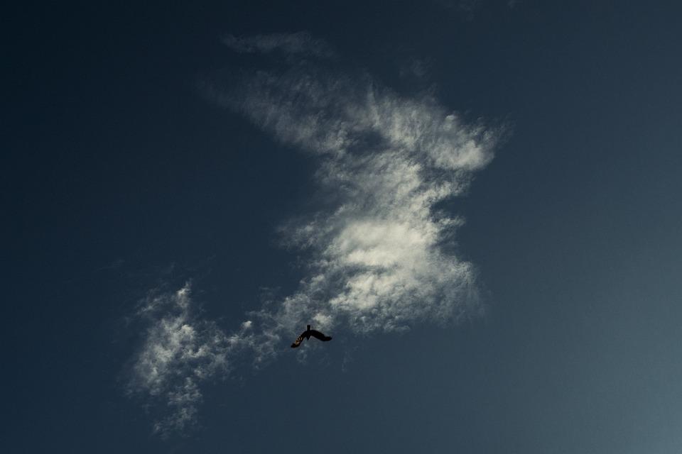 Sky, Blue, Clouds, Cloud, Drama, Blue Sky, Skies, Light
