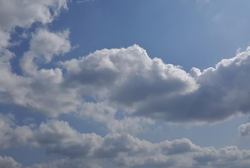 Clouds, Sky, Cumulus, Sky Clouds, Blue Sky Clouds