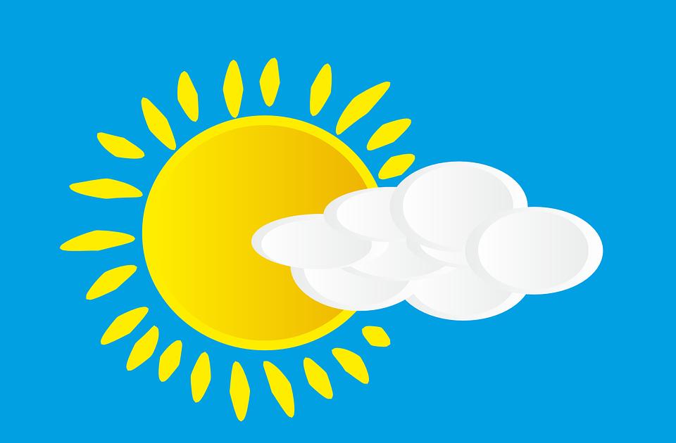 Sun, Cloud, Sky, Sunrays, Sunlight, Day, Blue Sky