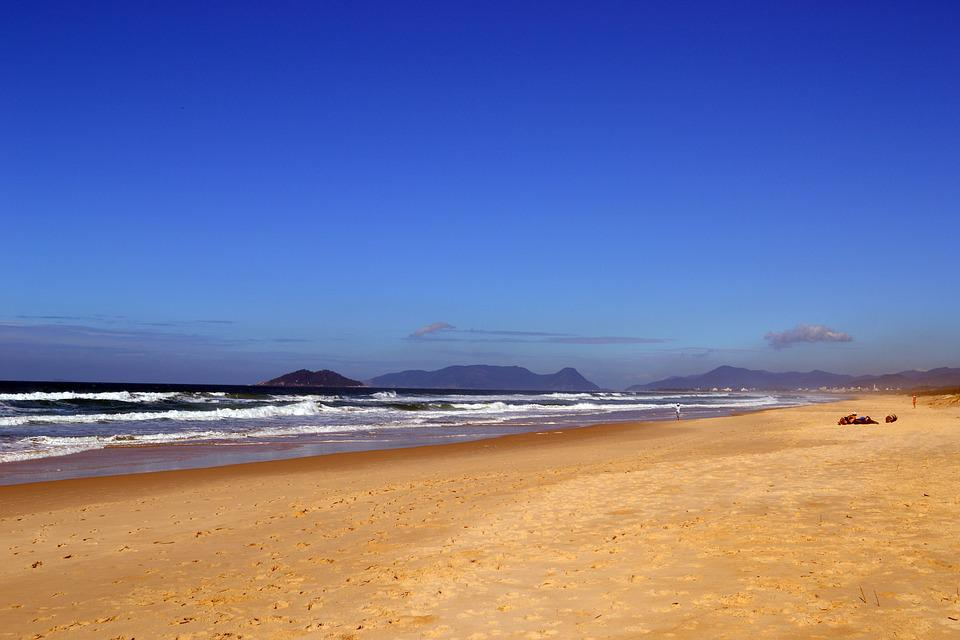 Beach, Brazil, Nature, Orla, Blue Sky, Litoral