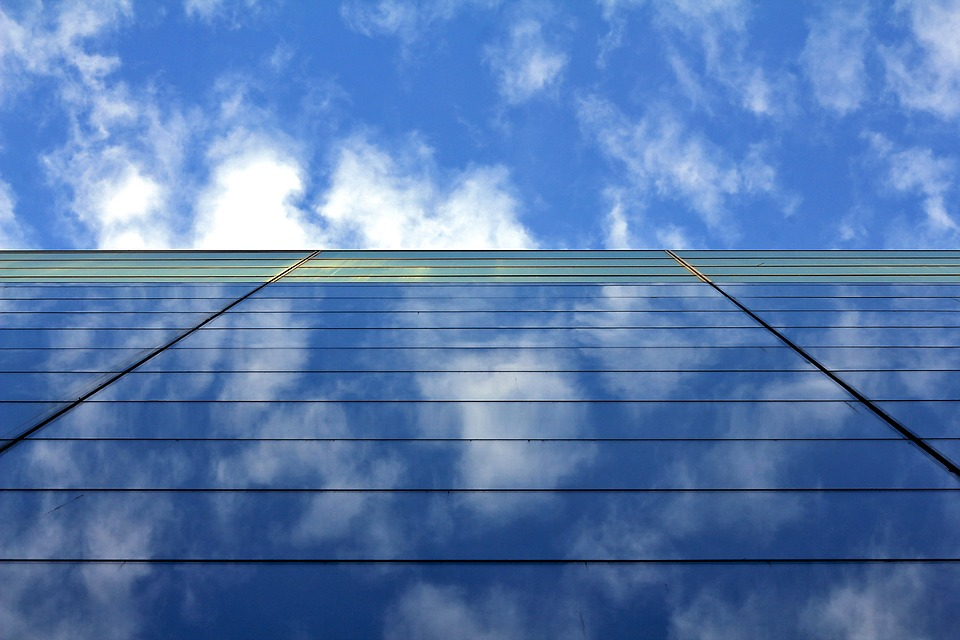 Sky, Blue Sky, Sun, Nature, Outdoors, Cloud, Industry
