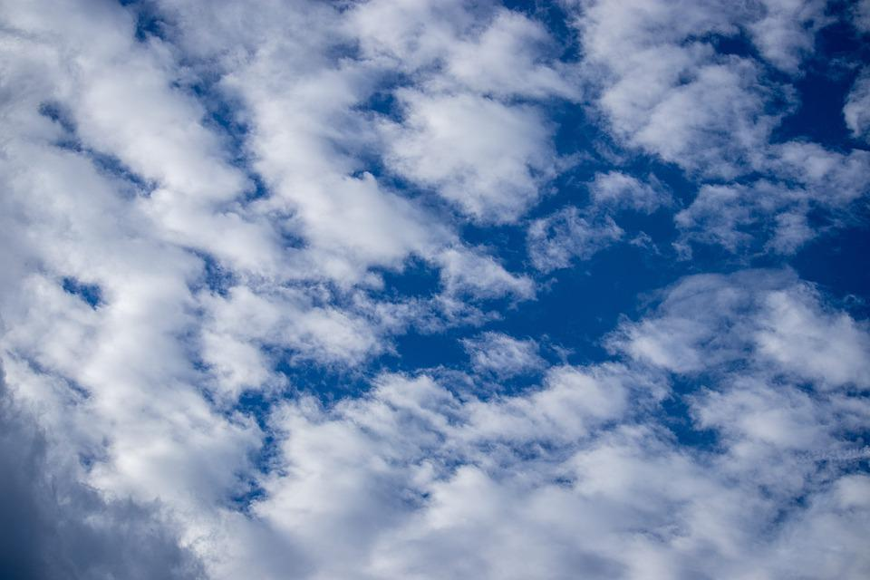 Sky, Blue, Blue Sky, No People, Cloud, White Clouds