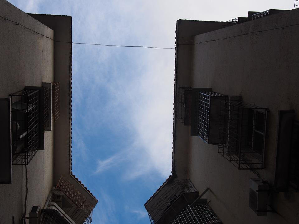 Xiamen, Houses, Blue Sky
