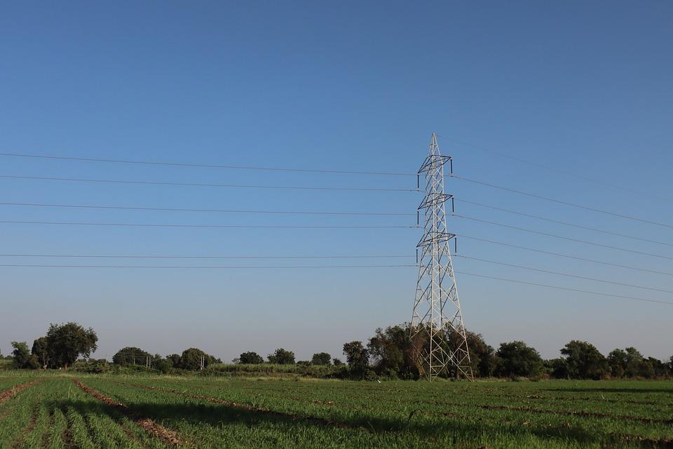 Tower, White, Blue, Landscape, Wild Angle, Ruleofthird