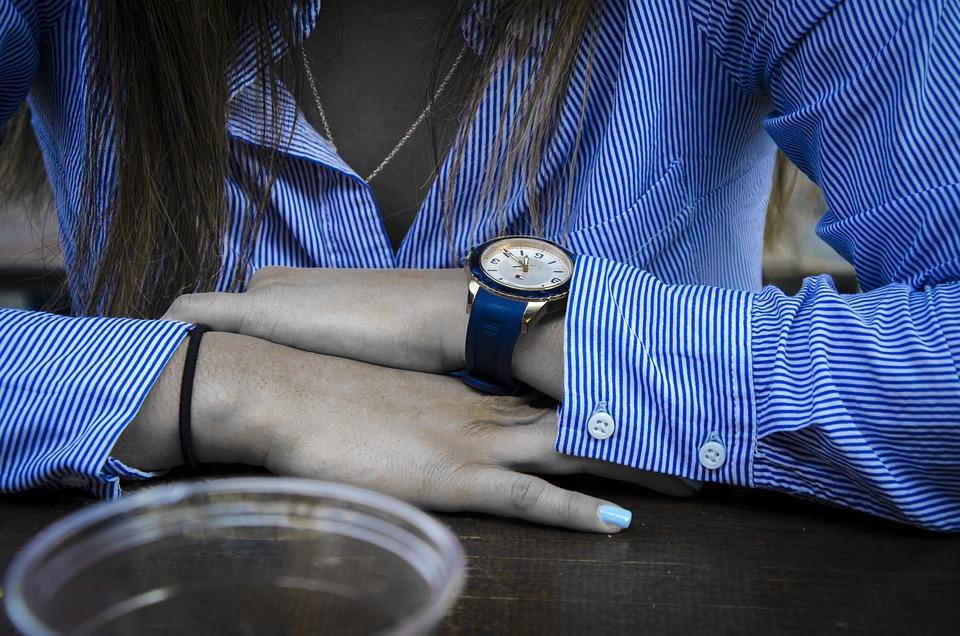 Clock, Watch, Blue, Time, Hours, Deadline, Minutes