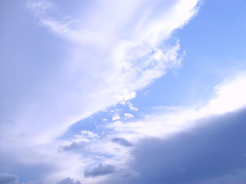 Sky, Clouds, Blue, Cloudscape, Weather, Meteorology