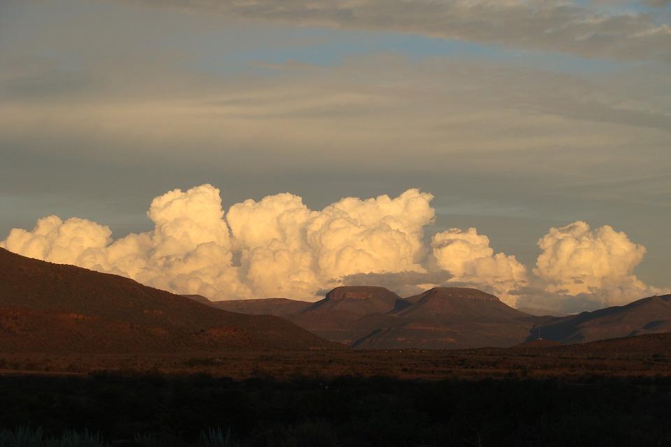Clouds, Cumulus, Sky, Weather, Atmosphere, Blue