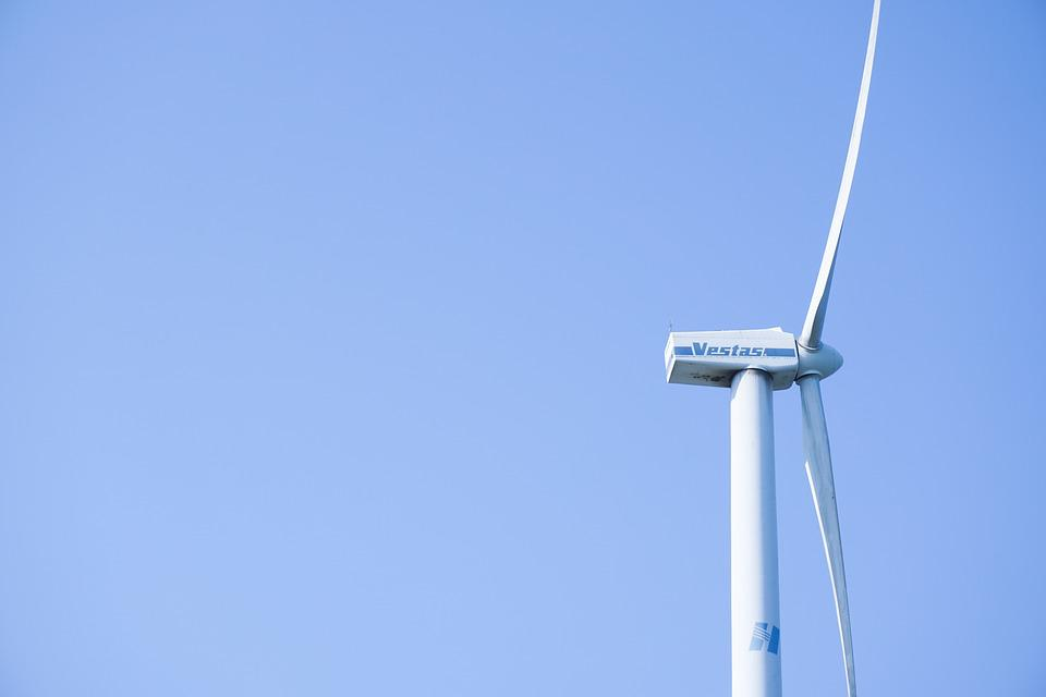 Windmill, Sky, Fresh, Blue, Light