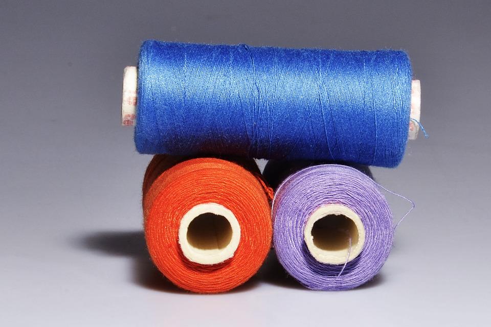 Yarn, Thread, Still Life, Colors, Shadow, Light, Blue