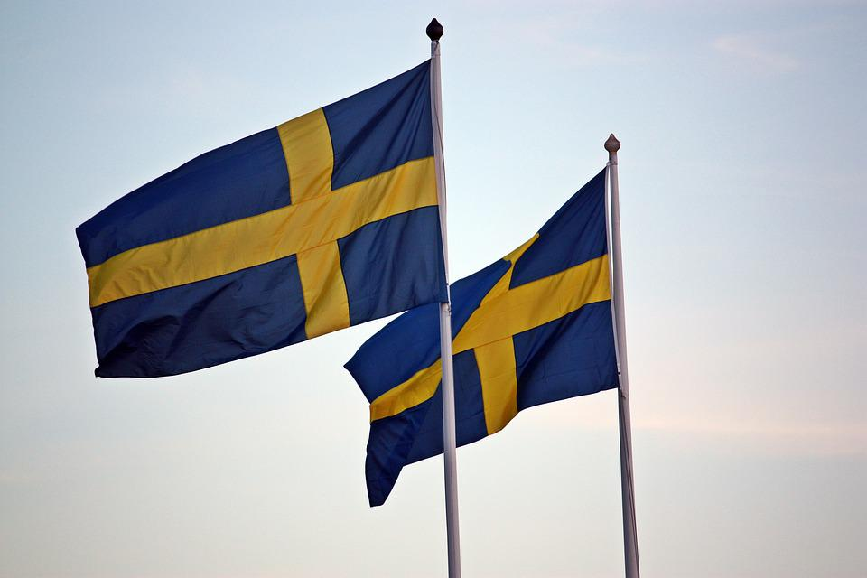 Flags, Sweden, Swedish Flag, Blue-and-yellow