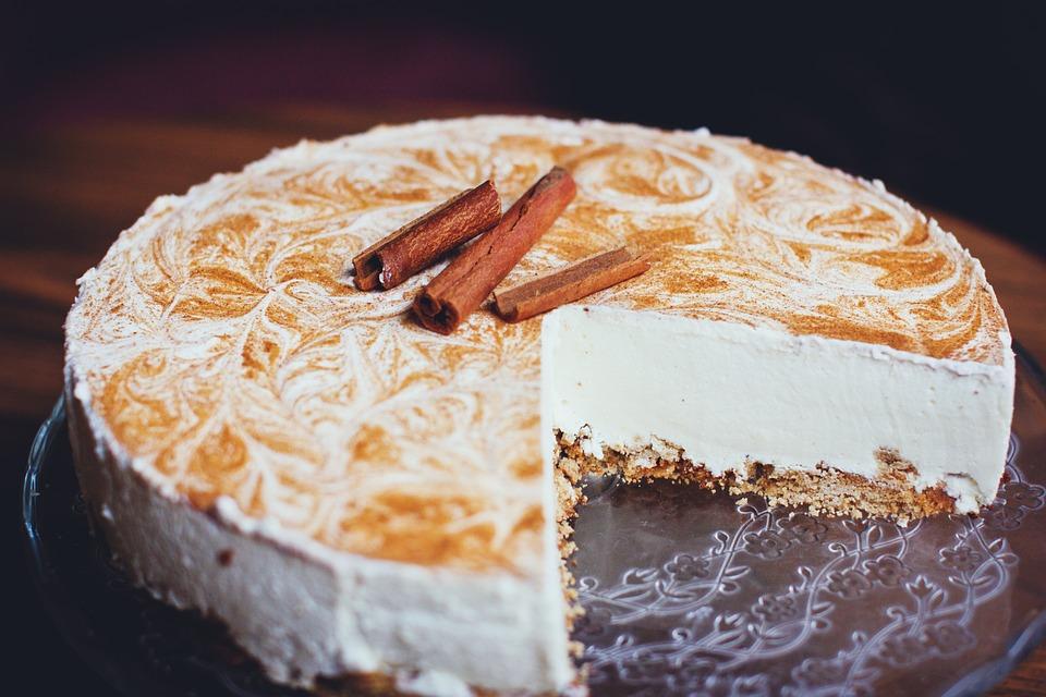 Blur, Cake, Cheesecake, Cinnamon, Close-up, Delicious