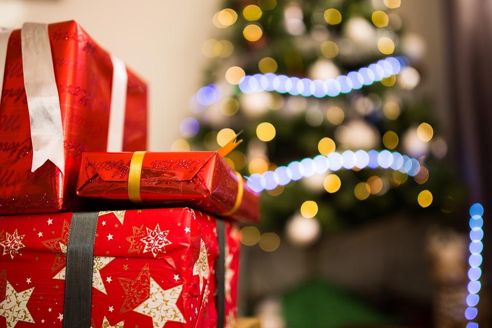 Blur, Bokeh, Christmas, Close-up, Focus, Gift