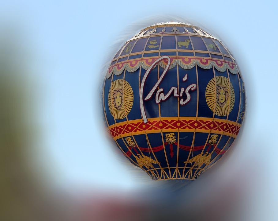 Balloon, Paris, Casino, Blur, Experimental, Flight