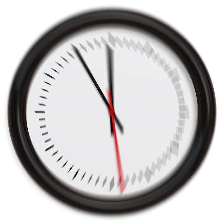 Clock, Pointer, Blurry, 5vor12, Test, Eye Test, Time