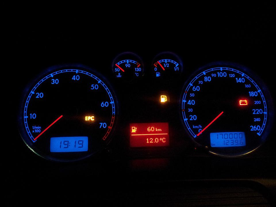 Passat, Board, Car, Blue, Red, Light