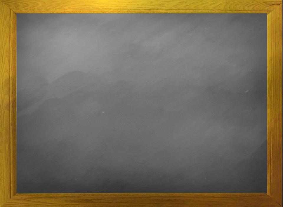 Blackboard, Blank, Chalkboard, Board, Dust, School