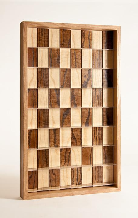 Chess, Chessboard, Vertical Chess, Board, Wood