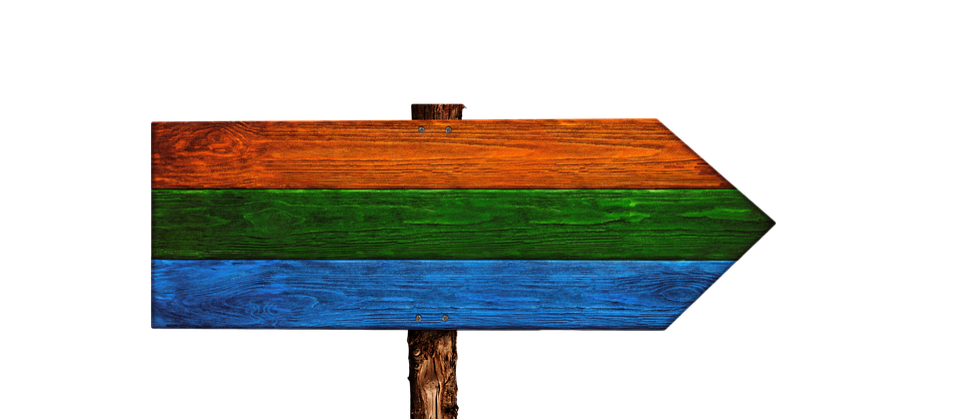 Directory, Signposts, Colorful, Wood, Grain, Board