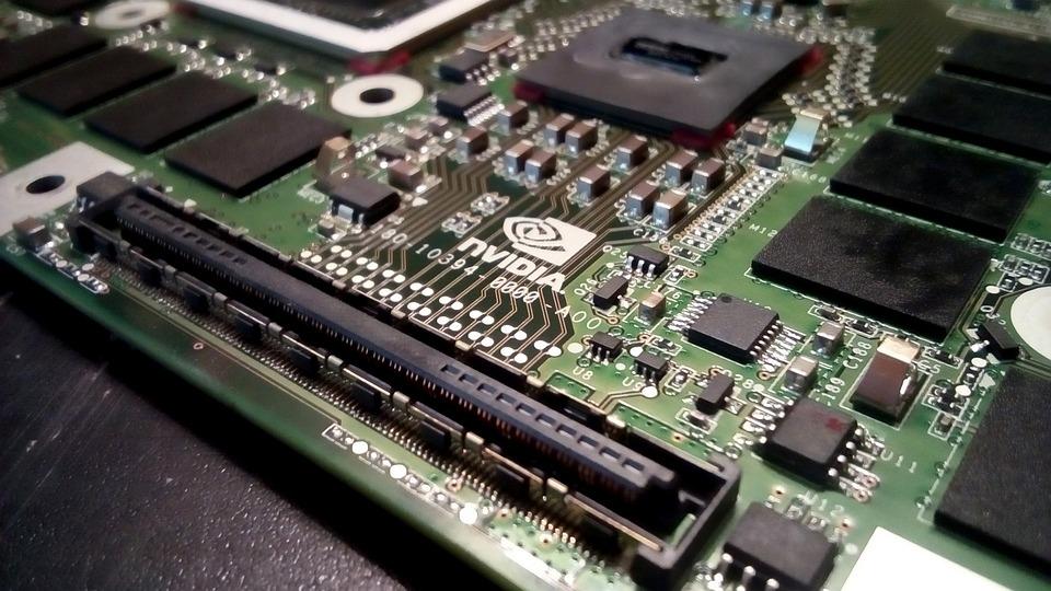 Nvidia, Gpu, Electronics, Pcb, Board, Processor