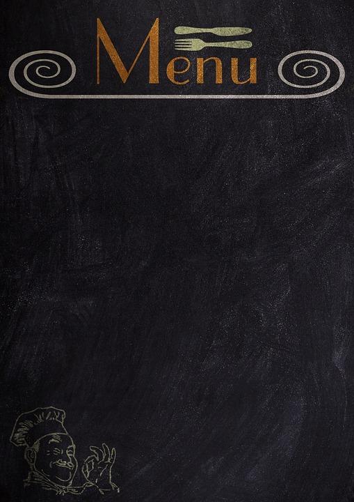 Menu, Board, Blackboard, Chalk, Label, Free Text Space