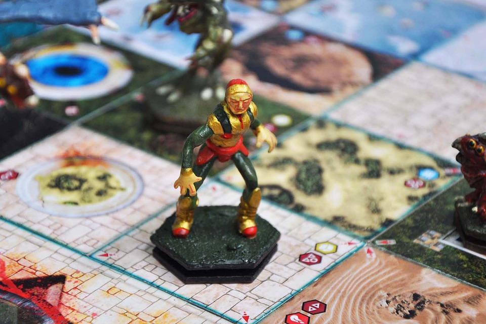 Prototype Game, Board Game, Masters Of Harhena, Harhena