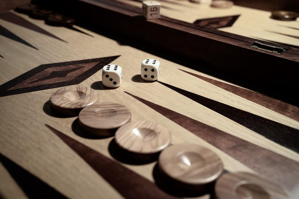 Cube, Backgammon, Strategy, Play, Board Game