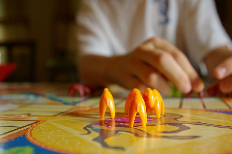 Parcheesi, Camels, Board Game, Compete, Win, Lose