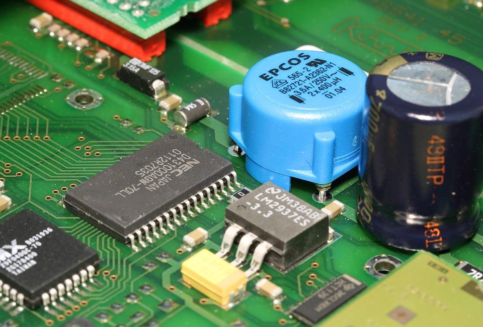 Pcb, Printed, Circuit, Board, Ic, Integrated