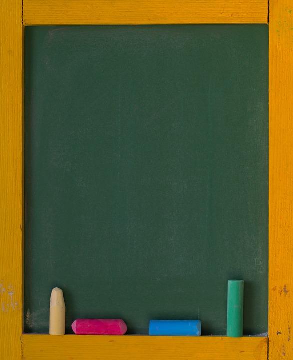 School, Board, Blackboard, Chalk, Slate, Learn, Write