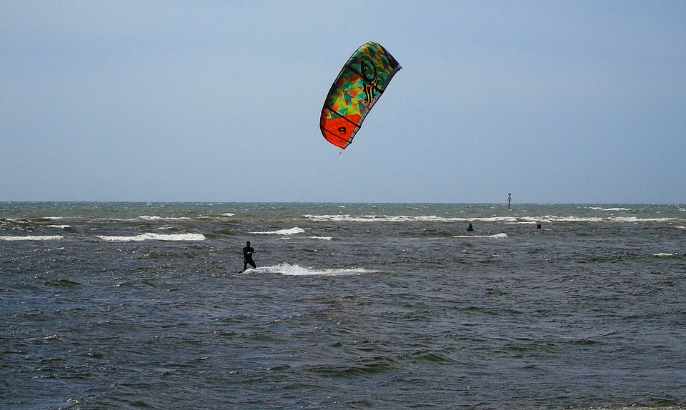 Kite, Surfing, Sea, Surfer, Surf, Water, Board, Fun