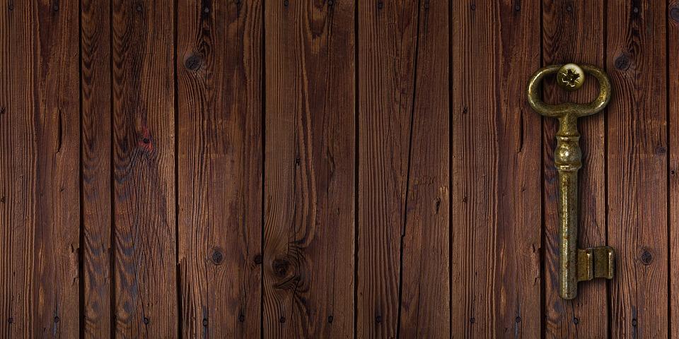 Wood, Key, Woods, Board, Old