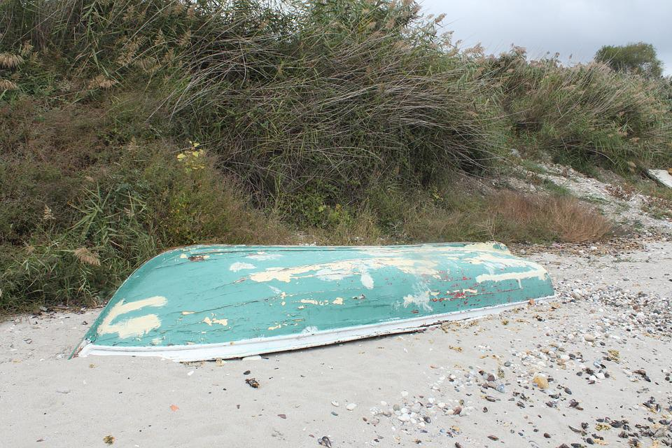 Boat, Beach, Marine, Abandoned, Coastal