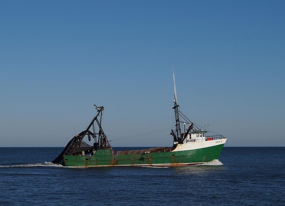 Ship, Boat, Bay, Sea, Harbor, Atlantic City, Water