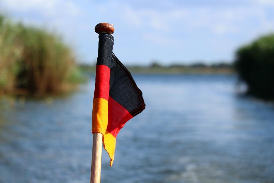 Germany Flag, Flag, Black Red Gold, Boat Flag, Boat
