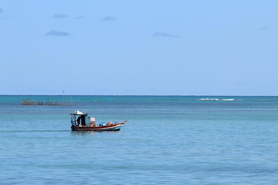 Mar, Boat, Northeast, Brazil, Sea, Fisherman, Beach
