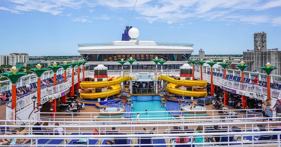 Free Photo Boat Cruise Ship Slide Water Tourism Travel Pool Max - Cruise ship slide