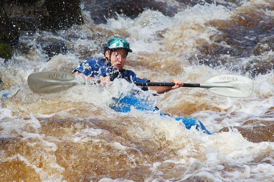 Action, Active, Boat, Danger, Excitement, Kayak