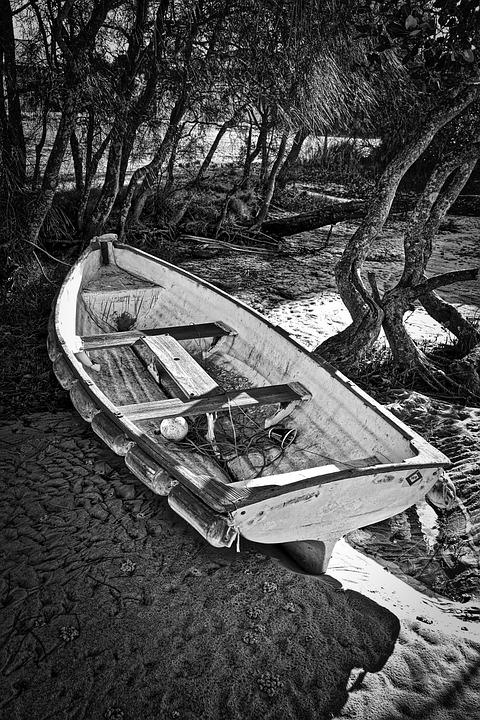 Boat, Rowboat, Fishing, Water, Boating, Nautical