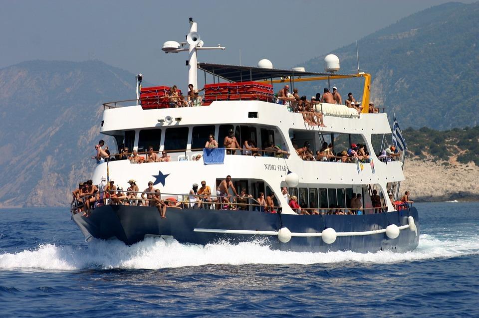 Lefkas, Boat, Cruise, Holiday
