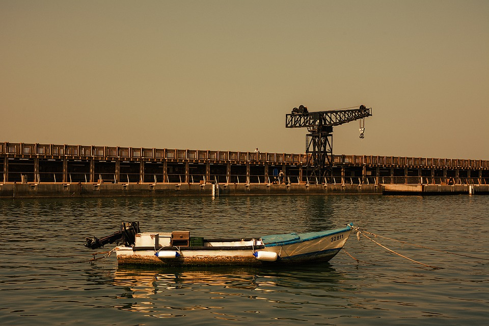 Boat, Port, Sea, Pier, Tel Aviv, Israel
