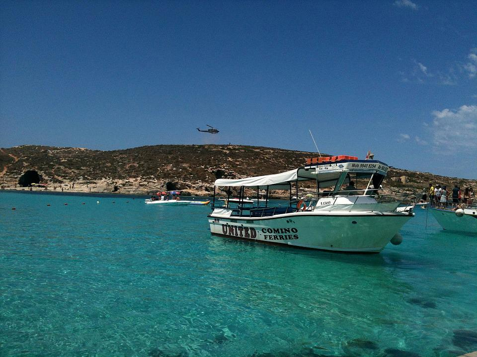 Boat, Great, Blue Lagoon, Malta, Comino
