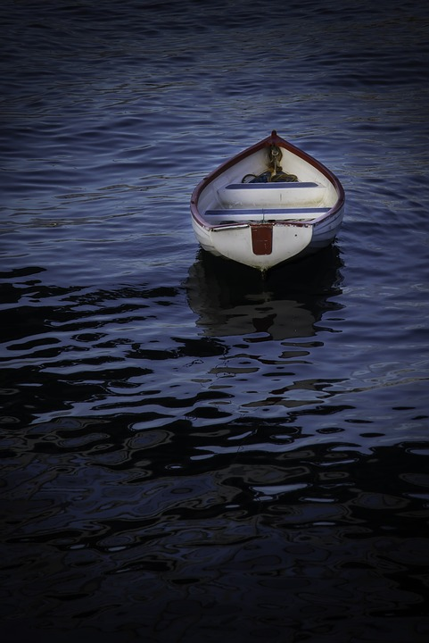 Boat Sea Adrift Water Marine Vessel Sail