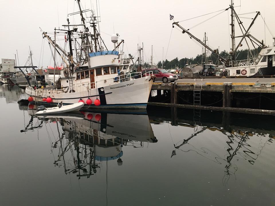 Fishing, Boat, Ocean, Wharf, Dock, Habor, Nautical, Sea