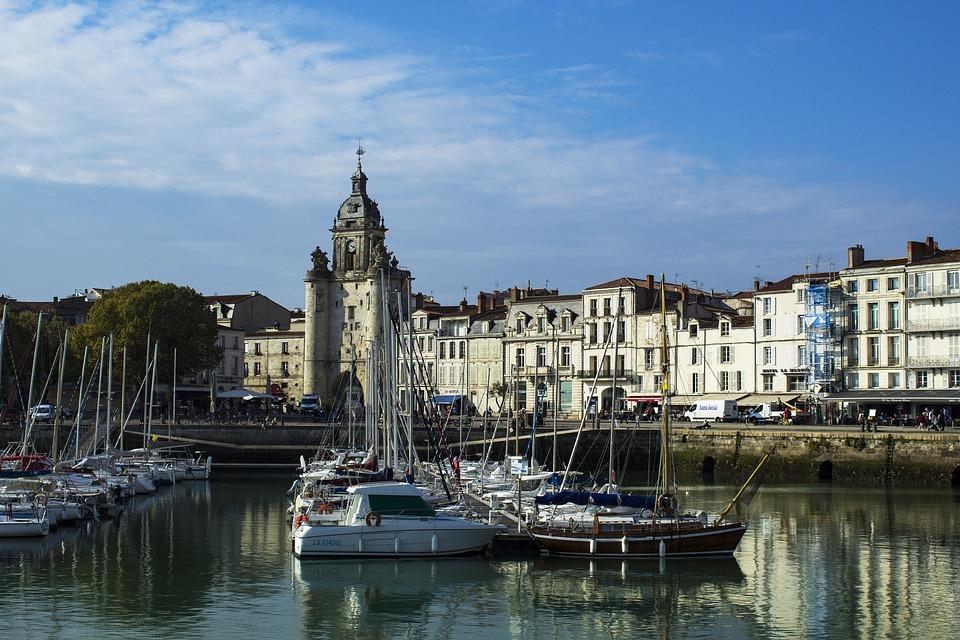 Port, Marina, Sea, Boat, Water, Sky, The Rochelle
