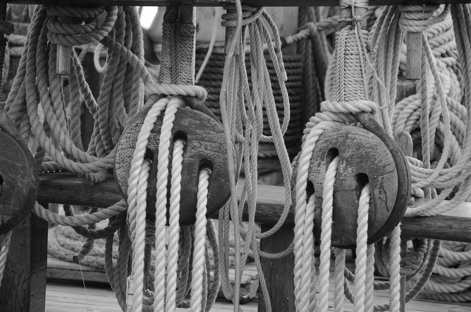 Armada, Wood, Boat, Former, Rope, Normandy