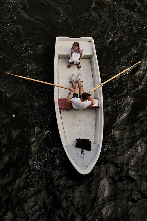 Boat, Rowing, River, Rowing Boat, Water, Leisure, Man