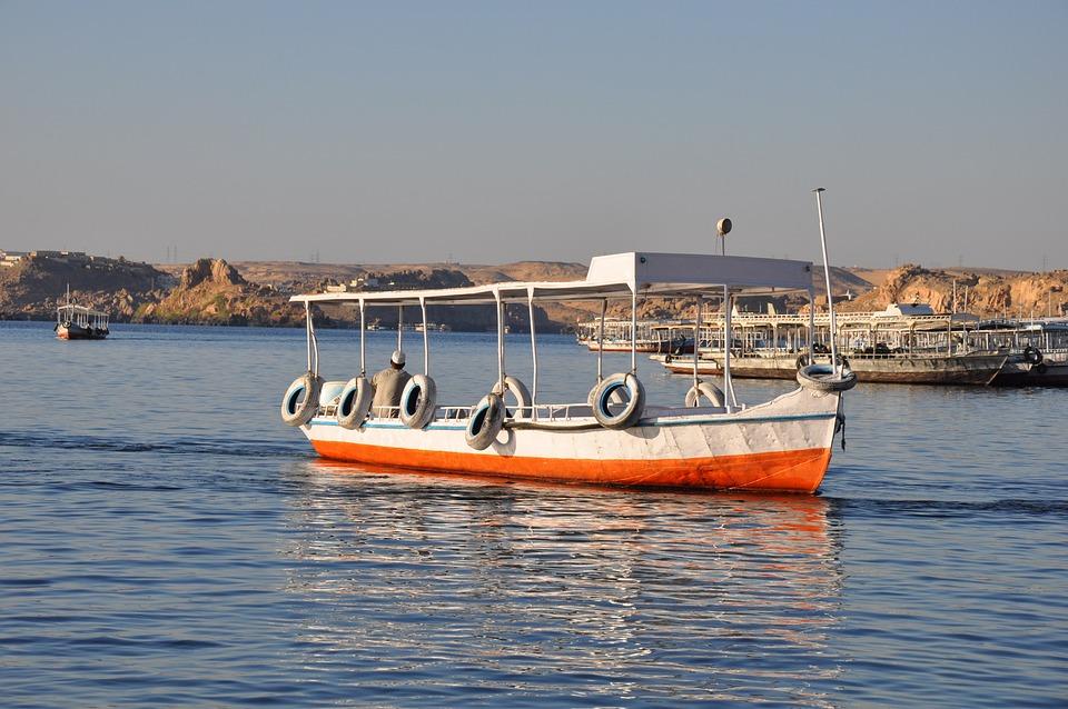 Felucca, Egyptian, Nile, Egypt, Sailboat, Boat, Ship