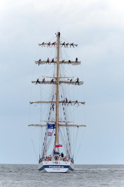 Sailing Boat, Regatta, Boat, Ship, Boat Mast, Harlingen