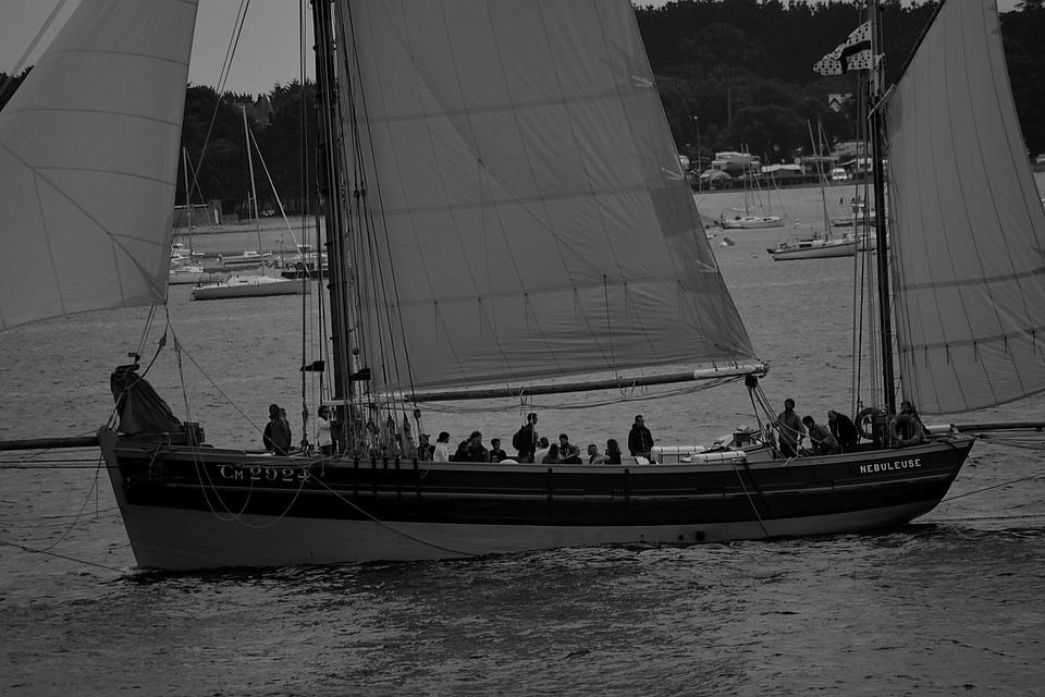 Boat, Sailing, Sailboat, Old Rig, Sailing Boat, Sea